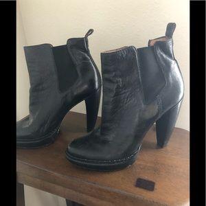 Michael Kors Black heel ankle boots